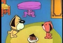 Myšák a dort