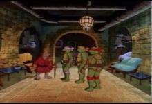 Čtyři želví mušketýři