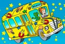 Kouzelný školní autobus