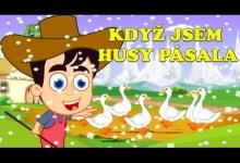 Když jsem husy pásala (21 minut písniček pro děti)