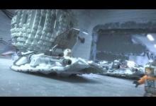 Snowspeeder vs. AT-AT