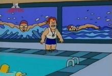 Učitelka plavání